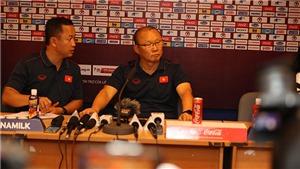 HLV Park Hang Seo: 'Thắng UAE tốt nhưng gặp Thái Lan mới là trận đấu lớn'