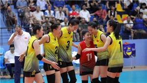 TRỰC TIẾP bóng chuyền nữ Seagame 30: Việt Nam vs Thái Lan