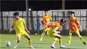 U23 Việt Nam chỉ có một buổi tập duy nhất trước khi đấu Triều Tiên