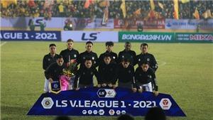 Cập nhật trực tiếp bóng đá V-League: Hải Phòng vs Hà Nội. Đà Nẵng vs Hà Tĩnh