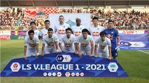 Vòng 7 LS V-League 2021: HAGL bứt phá, Thanh Hóa lâm nguy