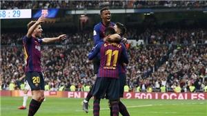 Xem trực tiếp bóng đá Real Madrid vs Barcelona (2h45, 3/3), vòng 26 La Liga