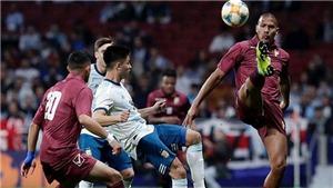 Venezuela đấu với Argentina (2h00, 29/6): Argentina không xứng là ứng viên vô địch?