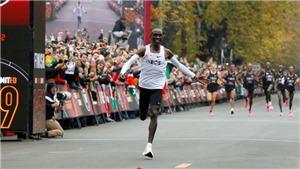 Ngay cả Man City cũng phải ngả mũ thán phục huyền thoại marathon Eliud Kipchoge