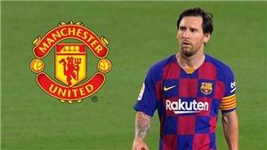 MU có thể sẽ từ bỏ giấc mơ chiêu mộ Messi vì... Pogba