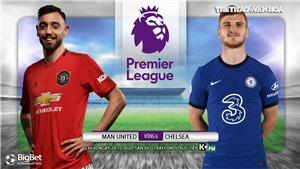 Soi kèo nhà cái MU vs Chelsea. Ngoại hạng Anh vòng 6. Trực tiếp K+ PM