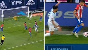 TRANH CÃI: Messi bị VAR từ chối bàn thắng một cách oan ức?