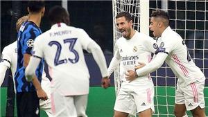 Inter Milan 0-2 Real Madrid: Hazard mở tài khoản ở C1. Inter Milan sắp bị loại