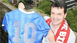 Chiếc áo Maradona mặc để thực hiện 'Bàn tay của Chúa' giờ ở đâu?