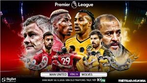 Soi kèo nhà cái MU vs Wolves. Trực tiếp bóng đá Anh hôm nay