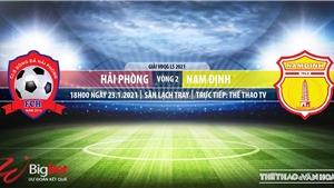 Soi kèo nhà cái Hải Phòng vs Nam Định.TTTV trực tiếp bóng đá Việt Nam 2021