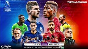 Soi kèo nhà cái Chelsea vs MU. K+PM trực tiếp bóng đá Ngoại hạng Anh