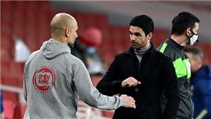Mikel Arteta thừa nhận sai lầm khi đối đầu với Pep Guardiola