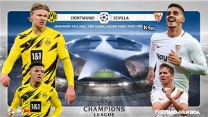 Soi kèo nhà cáiDortmund vs Sevilla. Lượt về vòng 1/8 Cúp C1 châu Âu