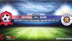 Soi kèo nhà cái Hải Phòng vs Hà Nội. VTV6 trực tiếp bóng đá vòng 3 LS V-League