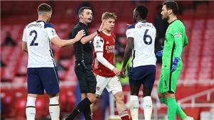"""Mourinho: """"Tôi có vấn đề với trọng tài về các quả penalty"""""""
