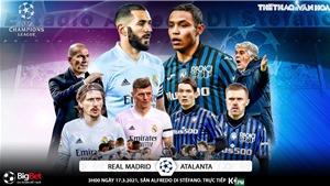 Soi kèo nhà cáiReal Madrid vs Atalanta. Lượt về vòng 1/8 Cúp C1