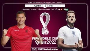 Soi kèo nhà cáiAlbania vs Anh. Vòng loại World Cup 2022, khu vực châu Âu