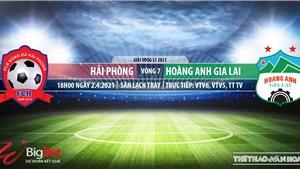 Soi kèo nhà cái Hải Phòng vs HAGL.VTV6 trực tiếp bóng đá V-League 2021