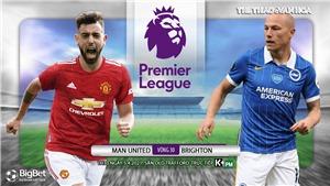 Soi kèo nhà cái MU vs Brighton. K+PM trực tiếp bóng đá Ngoại hạng Anh