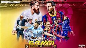 Soi kèo nhà cáiReal Madrid vs Barcelona. BĐTV trực tiếp bóng đá Tây Ban Nha