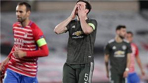 MU trả giá đắt cho chiến thắng trước Granada ở tứ kết Europa League