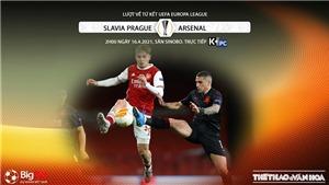 Soi kèo nhà cái Slavia Praha vs Arsenal. K+, K+PC trực tiếp bóng đá Cúp C2