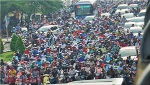 TP Hồ Chí Minh kẹt xe kinh hoàng trong ngày đầu đi làm sau nghỉ lễ