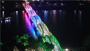Cầu Trường Tiền - Huế có hệ thống chiếu sáng nghệ thuật