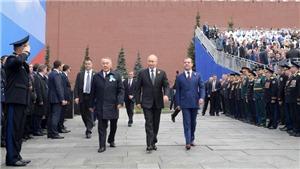 Những hình ảnh hào hùng trên Quảng trường Đỏ trong lễ duyệt binh kỷ niệm 74 năm Chiến thắng phát xít