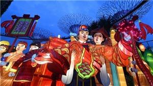 Tết Trung thu mừng 200 năm khai phá đất nước Singapore
