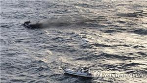Sáu thuyền viên Việt Nam mất tích ngoài khơi đảo Jeju