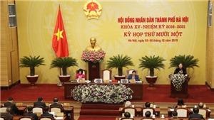 HĐND thành phố Hà Nội phê duyệt chủ trương đầu tư 10 dự án sử dụng vốn đầu tư công