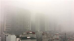 Bắc Bộ và Trung Bộ mưa nhỏ, có sương mù