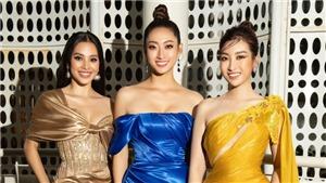 Hoa hậu Mỹ Linh, Thùy Linh và Tiểu Vy 'đọ sắc' trong một khuôn hình