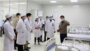 Bắc Giang: Chủ tịch UBND tỉnh Dương Văn Thái chỉ đạo công tác phòng chống dịch COVID-19