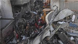 Vụ rơi máy bay chở khách ở Pakistan: Ít nhất 41 người được xác nhận thiệt mạng