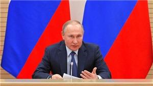 Tổng thống Nga Vladimir Putin ký sắc lệnh về phòng thủ chiến lược