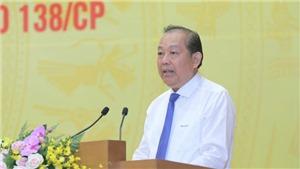 Phó Thủ tướng Thường trực Trương Hòa Bình: Kiên quyết xử lý cán bộ, công chức tiếp tay cho tội phạm