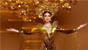 Trang phục dân tộc nặng 30kg của Á hậu Ngọc Thảo tại Miss Grand International