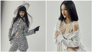 Á hậu Lona Kiều Loan mặc áo lưới khoe khéo vòng 1