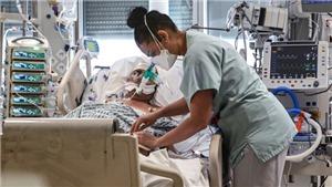 Dịch Covid-19: Pháp ghi nhận số bệnh nhân nguy kịch cao nhất kể từ đầu năm