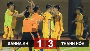 VIDEO Bàn thắng và Highlights Khánh Hòa 1-3 Thanh Hóa. Bảng xếp hạng V.League 2019 vòng 14