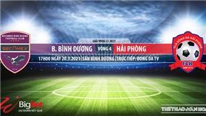 Soi kèo nhà cái Bình Dương vs Hải Phòng. BĐTV. Trực tiếp bóng đá Việt Nam hôm nay
