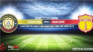Soi kèo nhà cái Thanh Hóa vs Nam Định. BĐTV trực tiếp bóng đá Việt Nam hôm nay