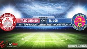 Soi kèo nhà cái TPHCM vs Sài Gòn. BĐTV. Trực tiếp bóng đá Việt Nam hôm nay
