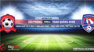 Soi kèo nhà cái Hải Phòng vs Quảng Ninh. VTV5. VTC3. Trực tiếp bóng đá Việt Nam hôm nay