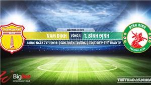 Soi kèo nhà cái Nam Định vs Bình Định. TTTV trực tiếp bóng đá Việt Nam hôm nay