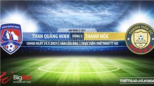Soi kèo nhà cái Quảng Ninh vs Thanh Hóa. TTTT HD. Trực tiếp bóng đá Việt Nam hôm nay