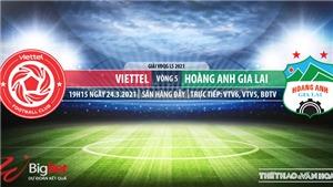 Soi kèo nhà cái Viettel vs HAGL. VTV6 trực tiếp bóng đá Việt Nam hôm nay